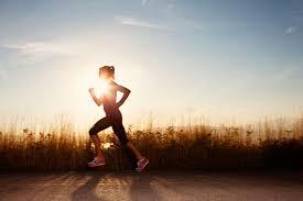 Running shows both hard work and dedication