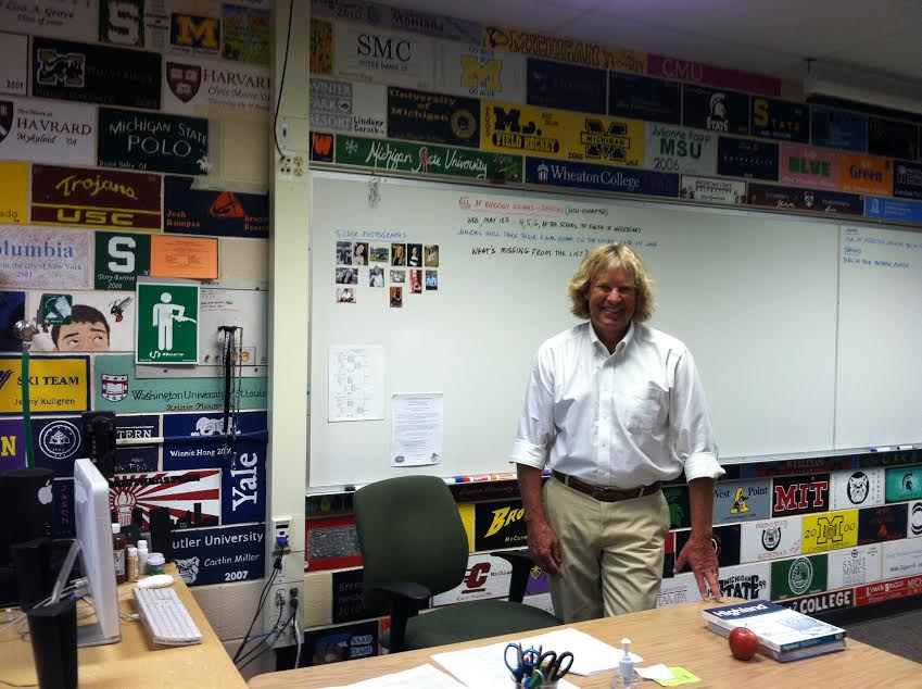 Biology Teacher Andy Rundquist Completes Final Year at FHC