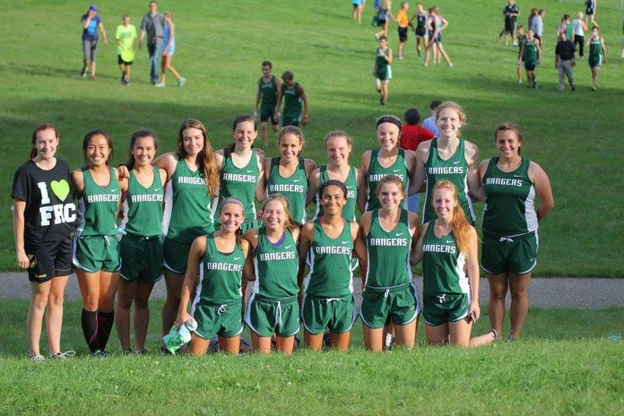 Girls Cross Country Team places first at OK White Conference Jamboree