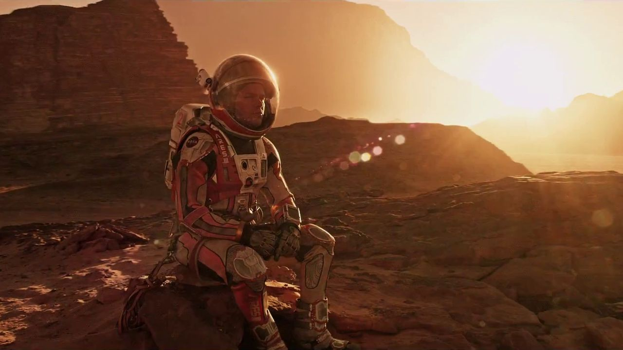 The Martian: Movie of the Light Year
