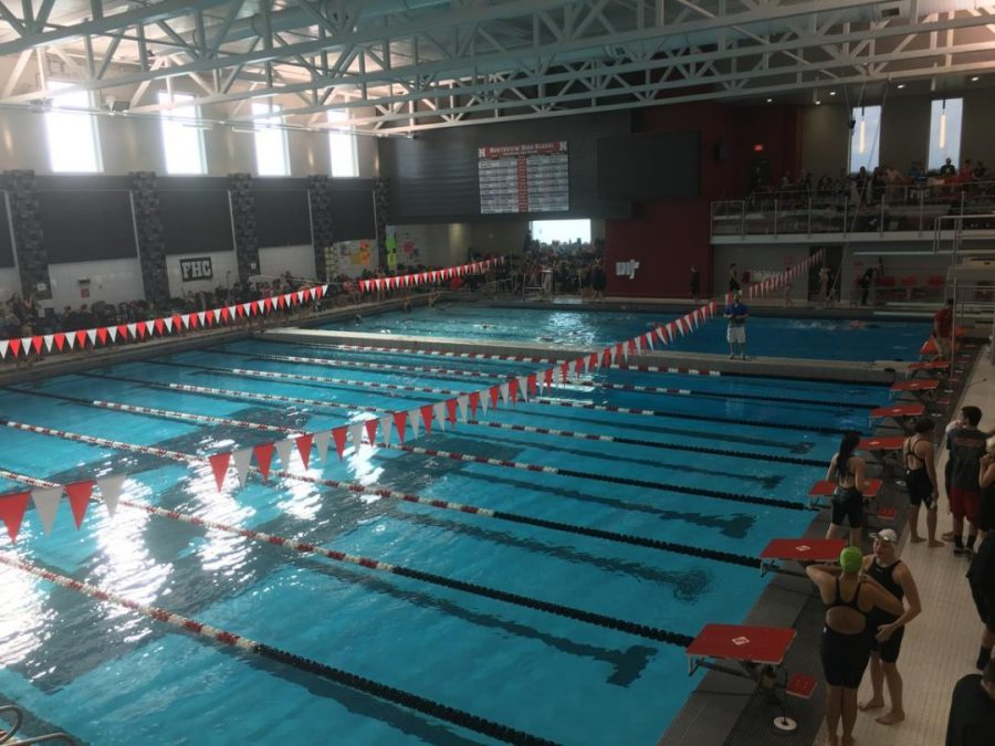 Girls swim and dive gets seventh in West Michigan Relays