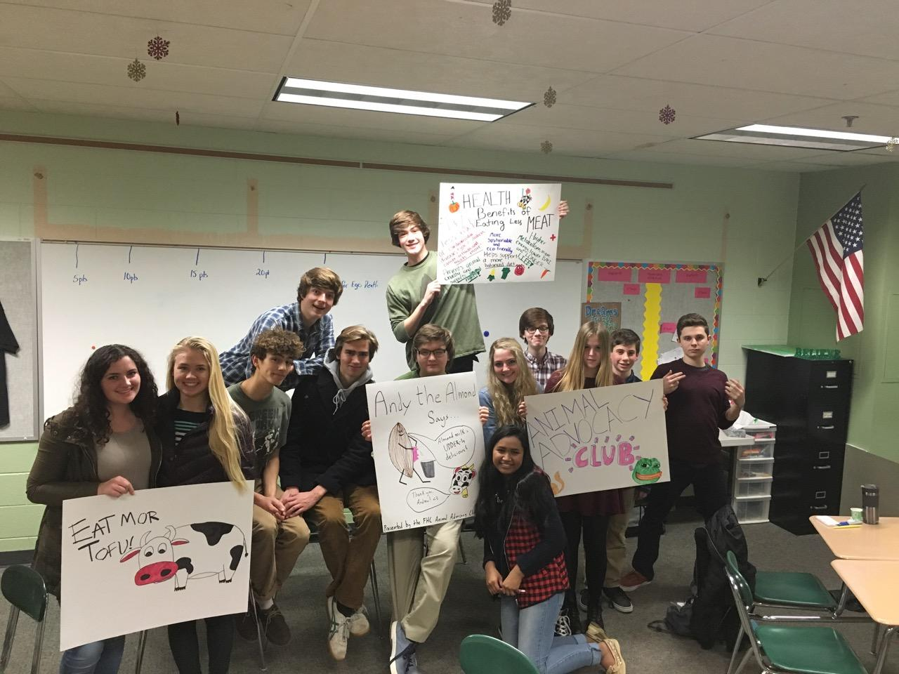 Animal Advocacy Club Arrives at FHC