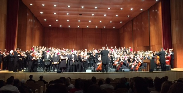 Winter Collage Concert showcases musical skills of nearly 400 students