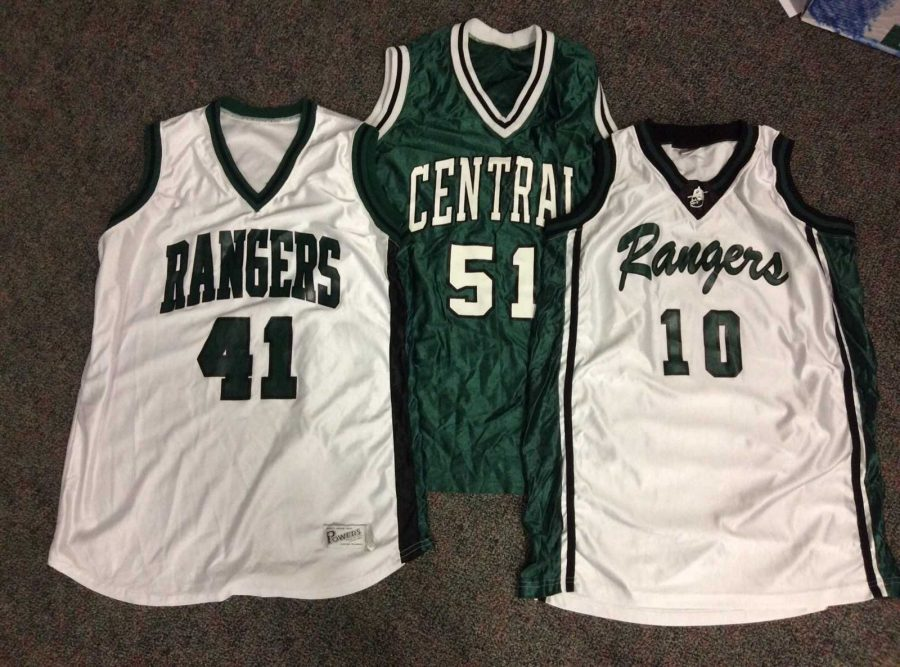 Basketball Team to Sell Old Rangerball Jerseys During Lunch