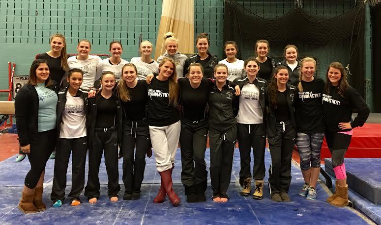 Senior-Laden Gymnastics Team Vaults Itself Towards Success