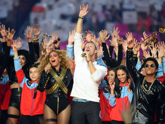 Beyonce and Bruno Steal The Show at Super Bowl 50