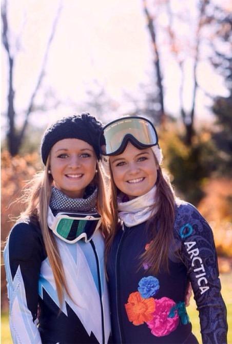 Sisters Sydney (left) and Kayley Reynolds.