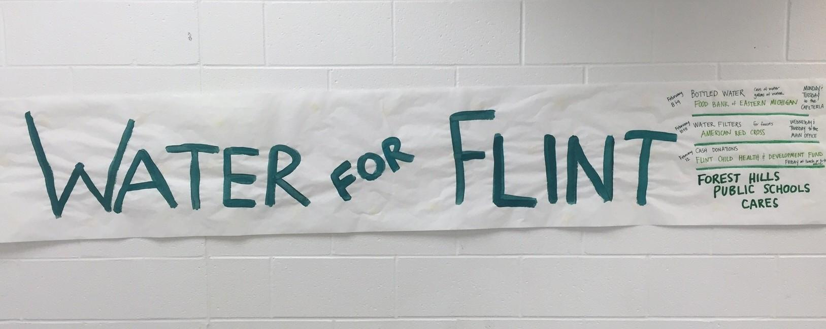 FHC Cares: FHPS holds water drive for Flint