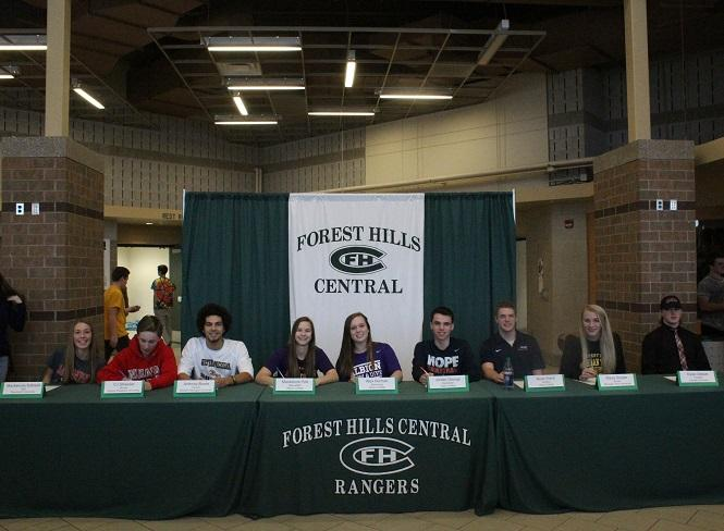 Nine FHC Students Sign to Play Collegiate Sports