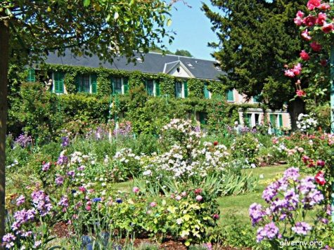 Monet's Gardens in Giverny, France is home to the impressionist painter Claude Monet. With water gardens and flower garden running through his home truly display to pure sense of beauty.