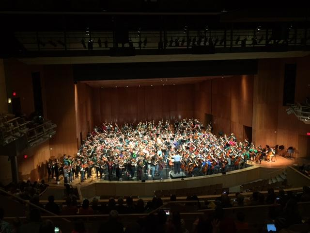 Hundreds of FHC string players perform in 32nd annual Spring String Fling