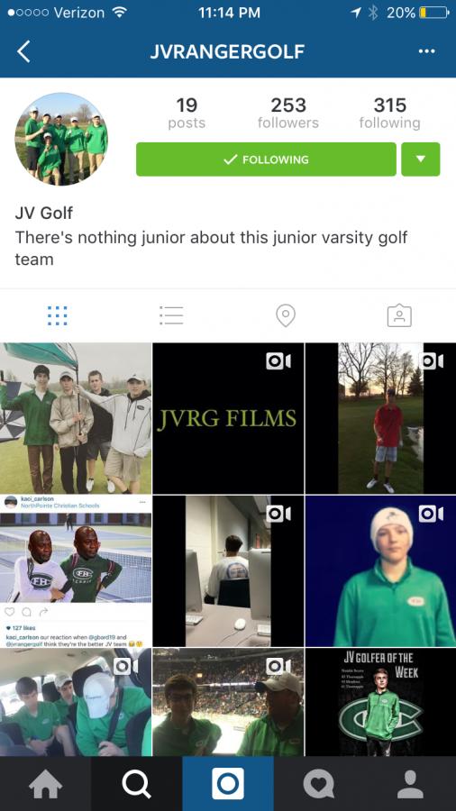 Jvrangergolf: JV Golf Shines on the Course and on Instagram