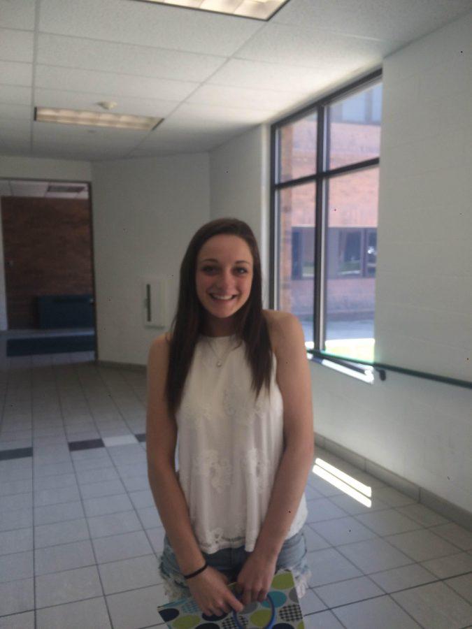 Katelyn Johnson-- Senior Class President