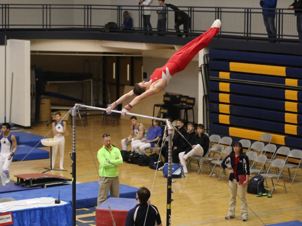 Gymnastics gets a win over Kenowa Hills
