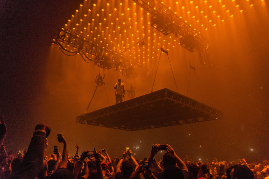 Kanye West Brings Grandiose Presence to Grand Rapids for Concert