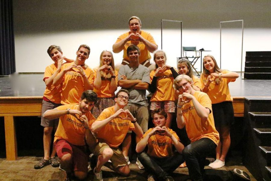 An Unlikely Group Turned Family: The Story of the Improv Team