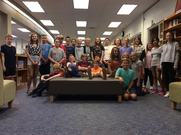 English teacher Michele Wallace moves to middle school