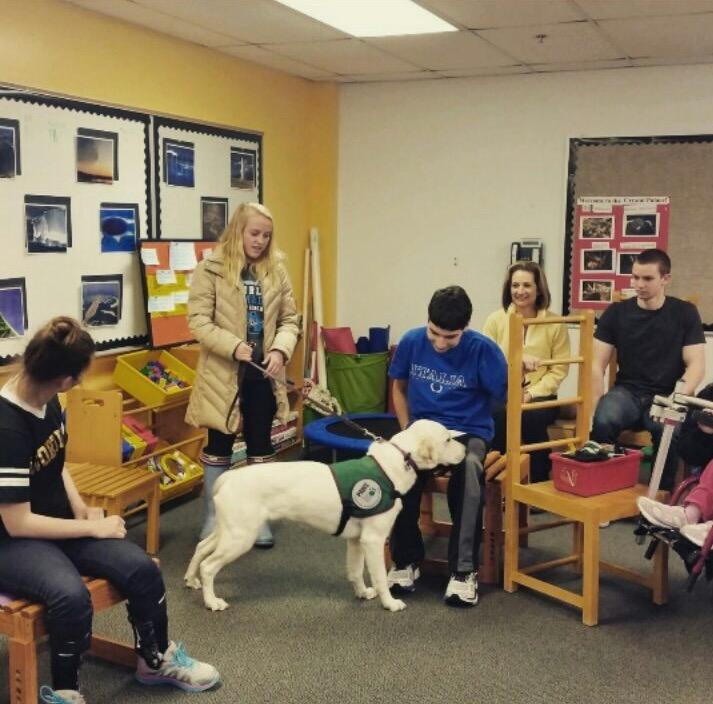 Colleen+and+Timmy+Kramer+participate+in+Paws+with+a+Cause