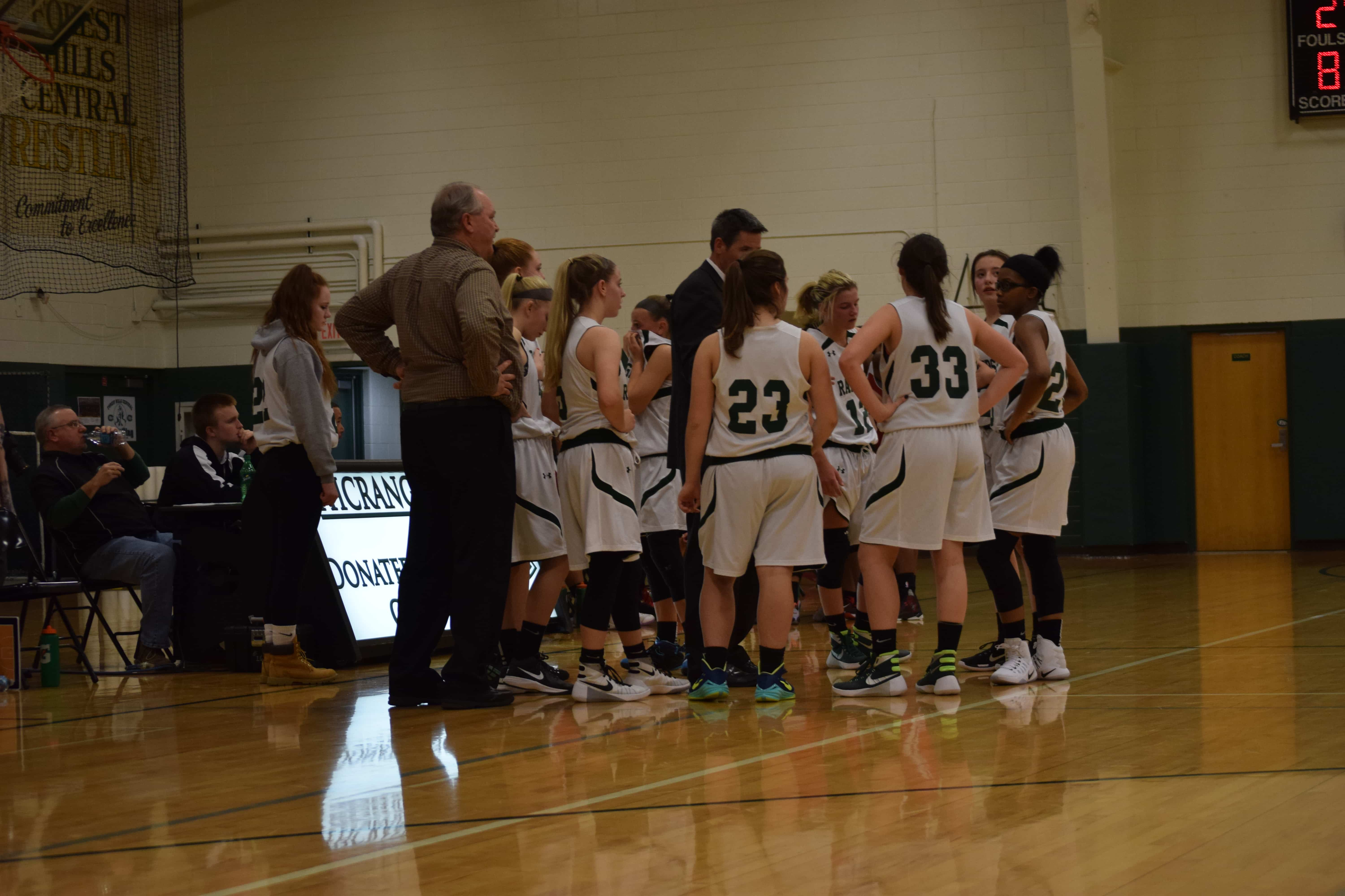 FHC Freshmen Girls Basketball vs. East Kentwood: December 8th 2016