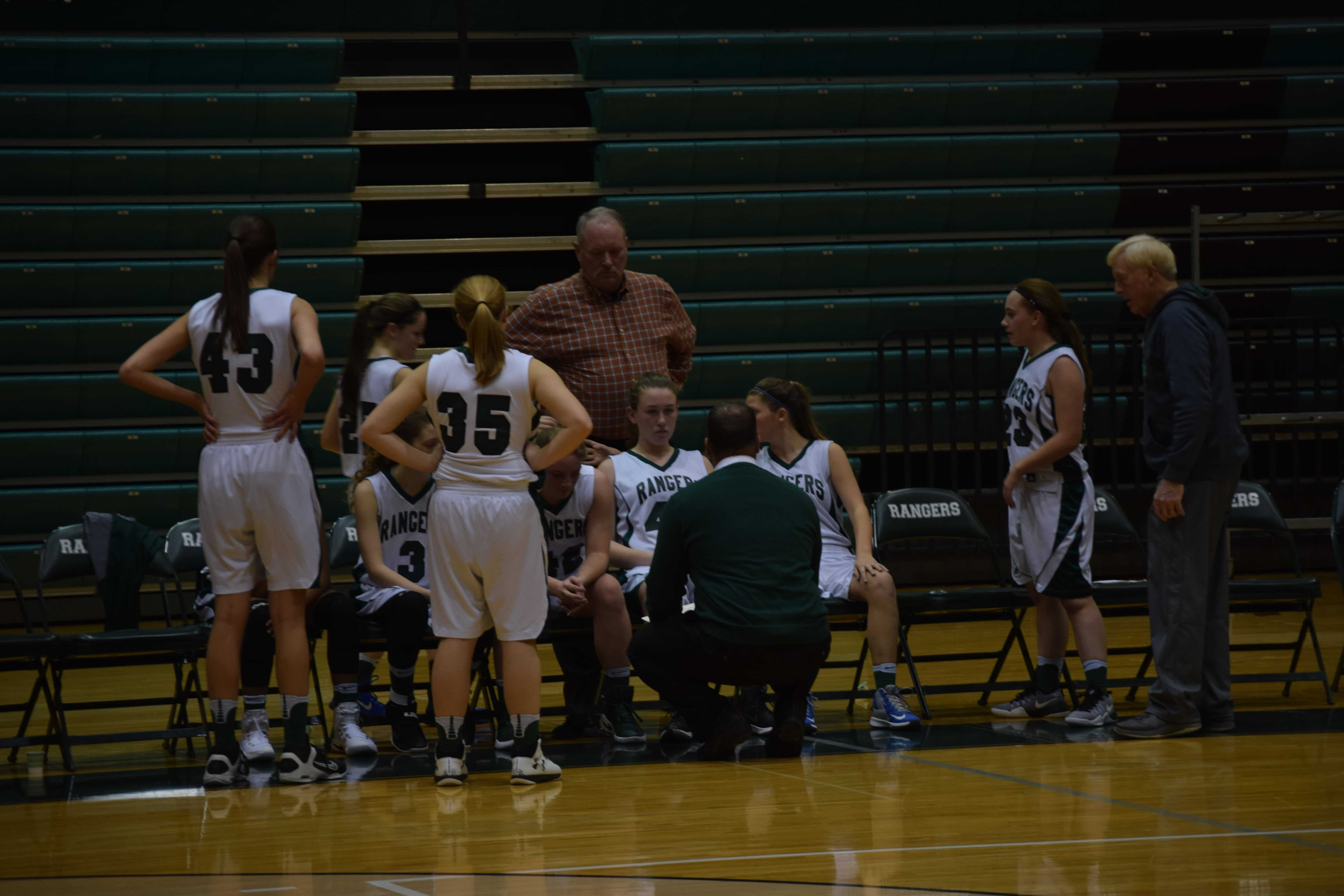 FHC JV Girls Basketball vs. FHN: January 5th 2017