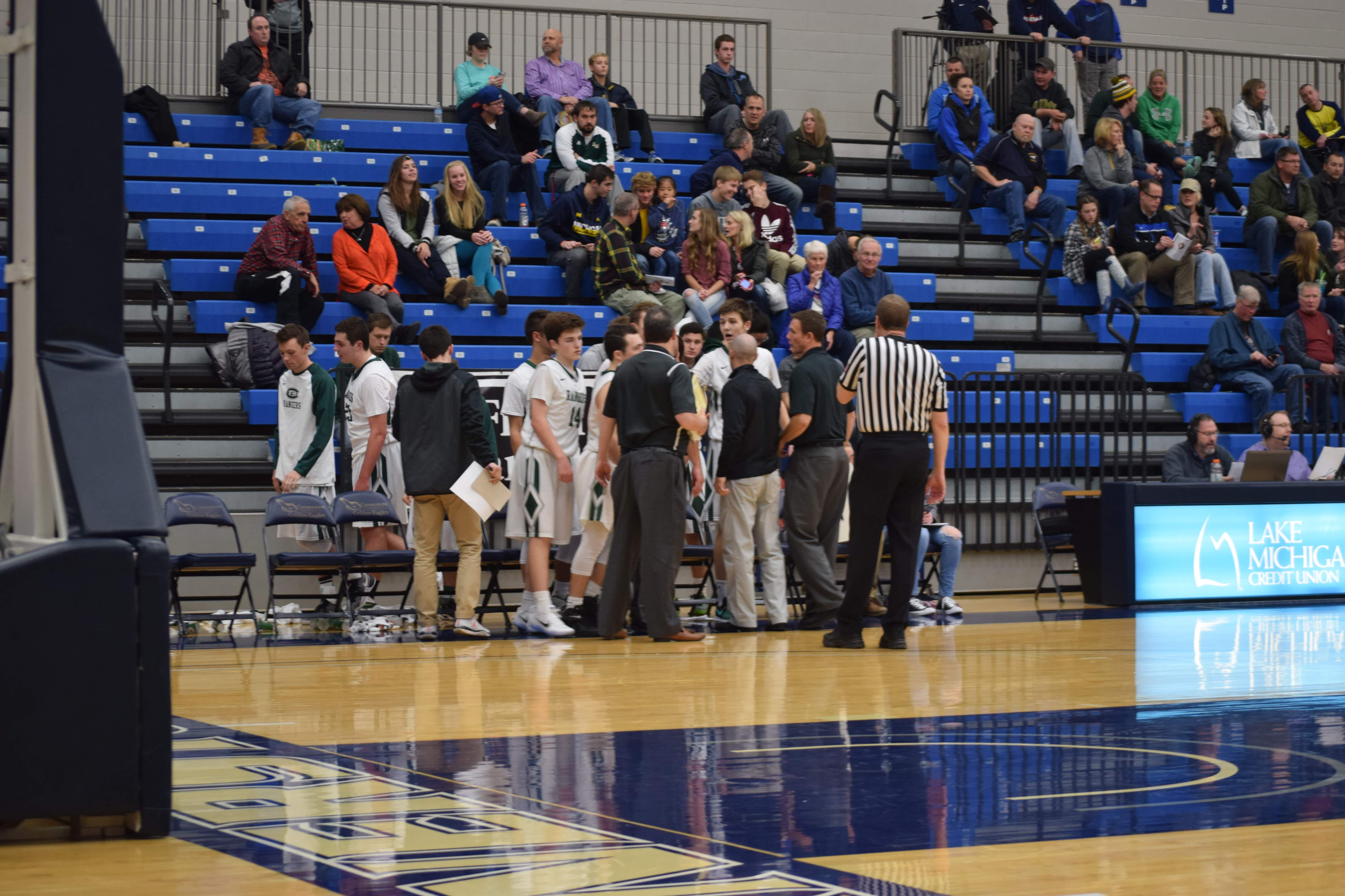FHC Varsity Boys Basketball vs. Covenant Christian: December 23rd 2016