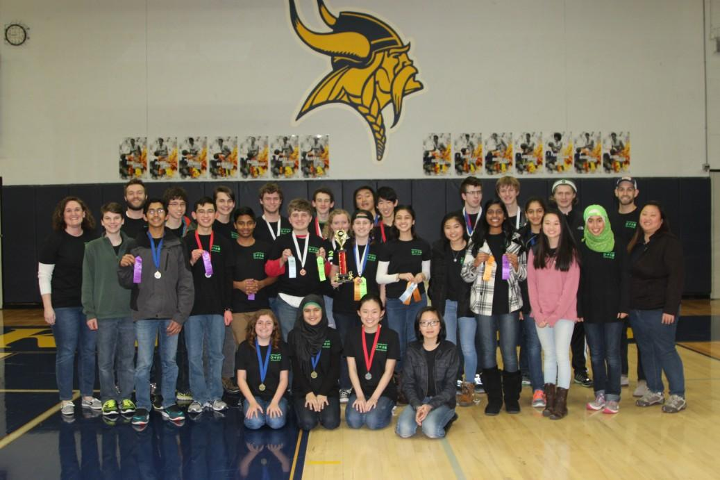 Science Olympiad's first competition results in major success