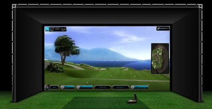 New golf simulator helps FHC swing their way to success