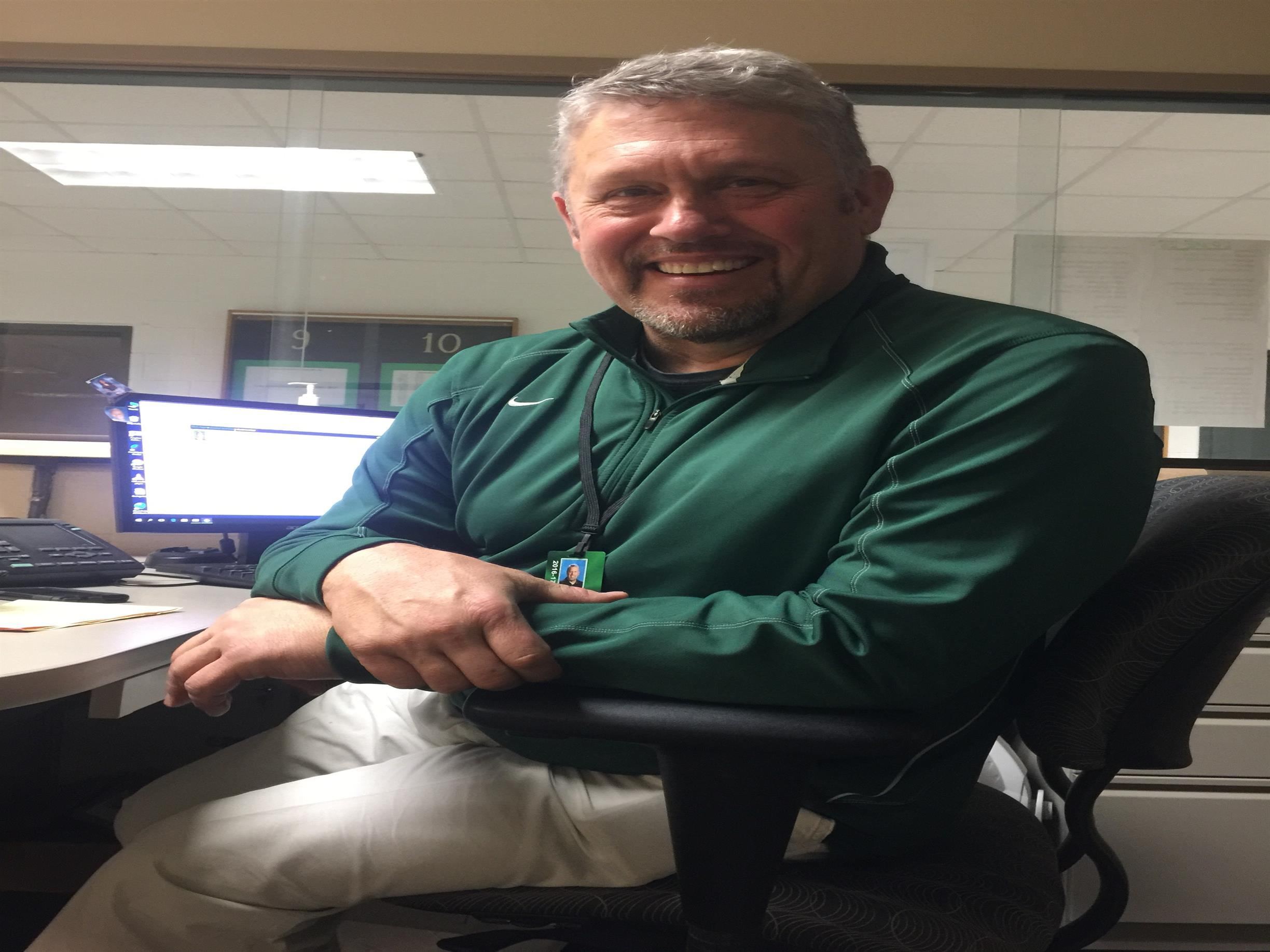 Safety liaison Daane Spielmaker has a Hall of Fame background