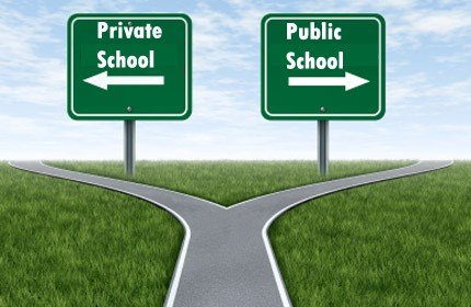 Public schools vs. private schools: Should they compete with one another?