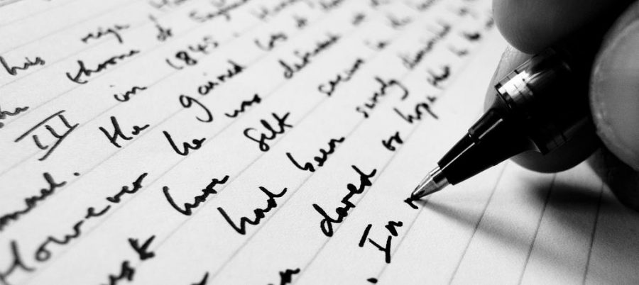 Writing is my outlet