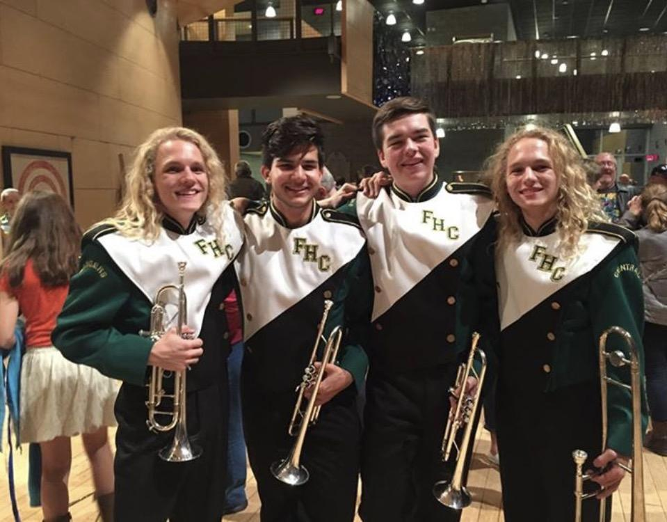 Jake Lohrke and Sam Ovens have had life-changing involvement in theater and band