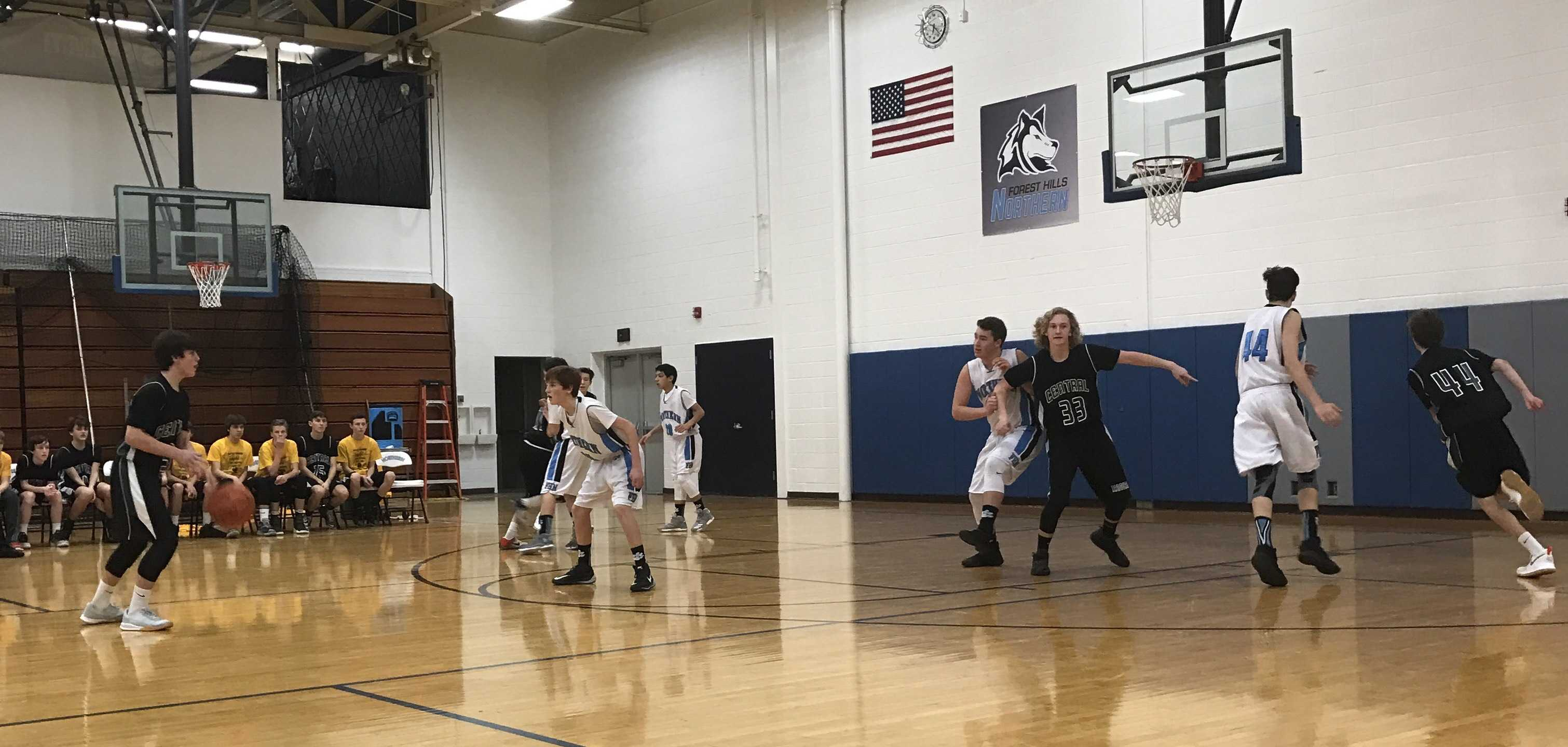 Freshman boys basketball defeats fierce rival FHN