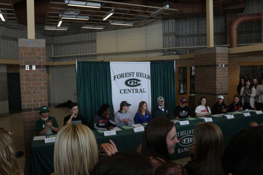 FHC Student Athlete Signing Day February 2017