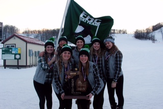 Sydney Reynolds, and the rest of the girls ski team, take home gold