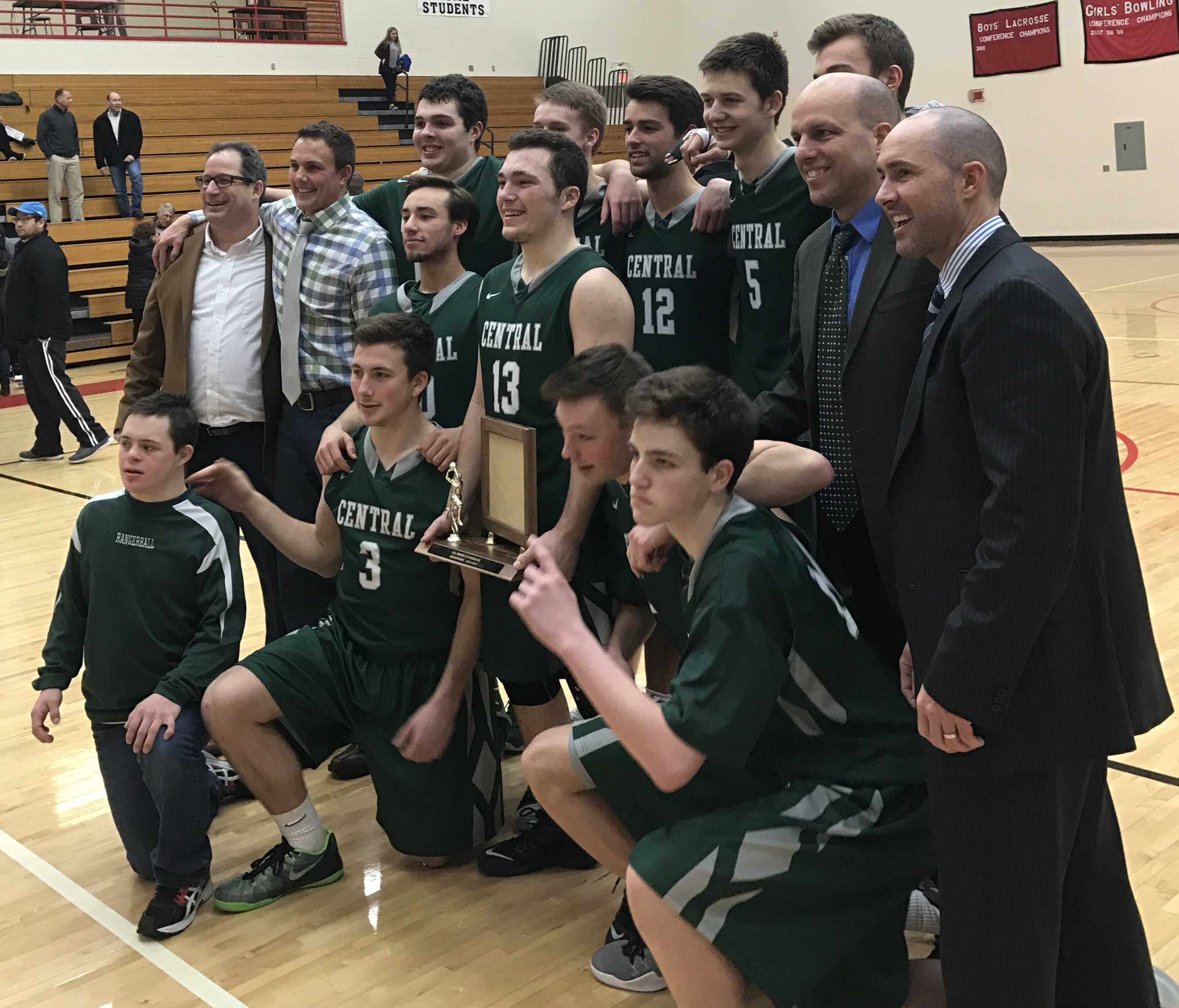 FHC varsity basketball wins conference title