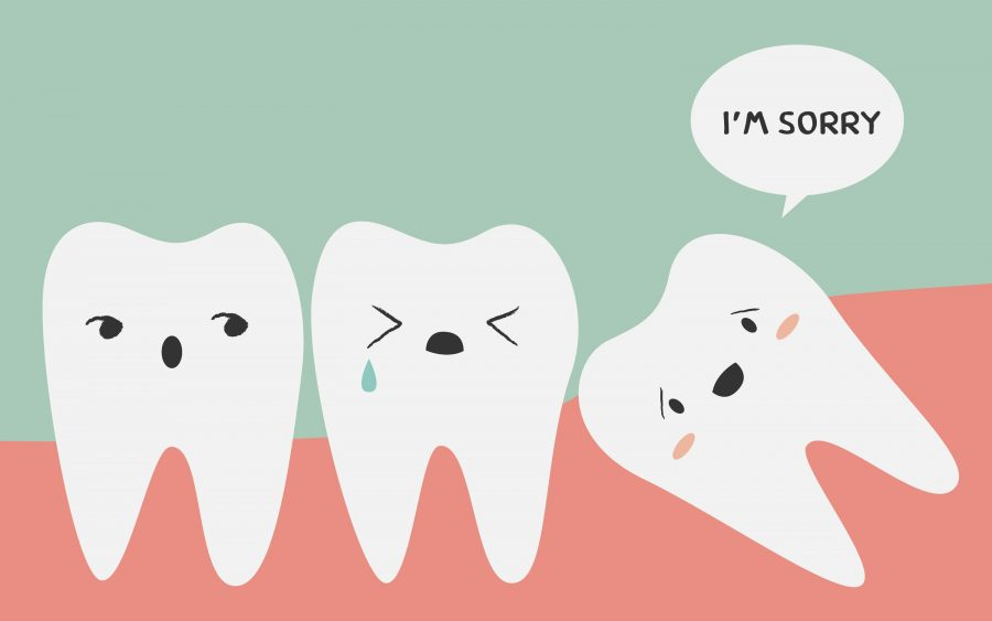 impacted+tooth%2C+Vector+illustration+Toothache%2C+Tooth+medical+anatomy