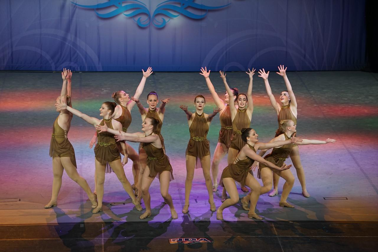 FHC Dance team places ninth at nationals