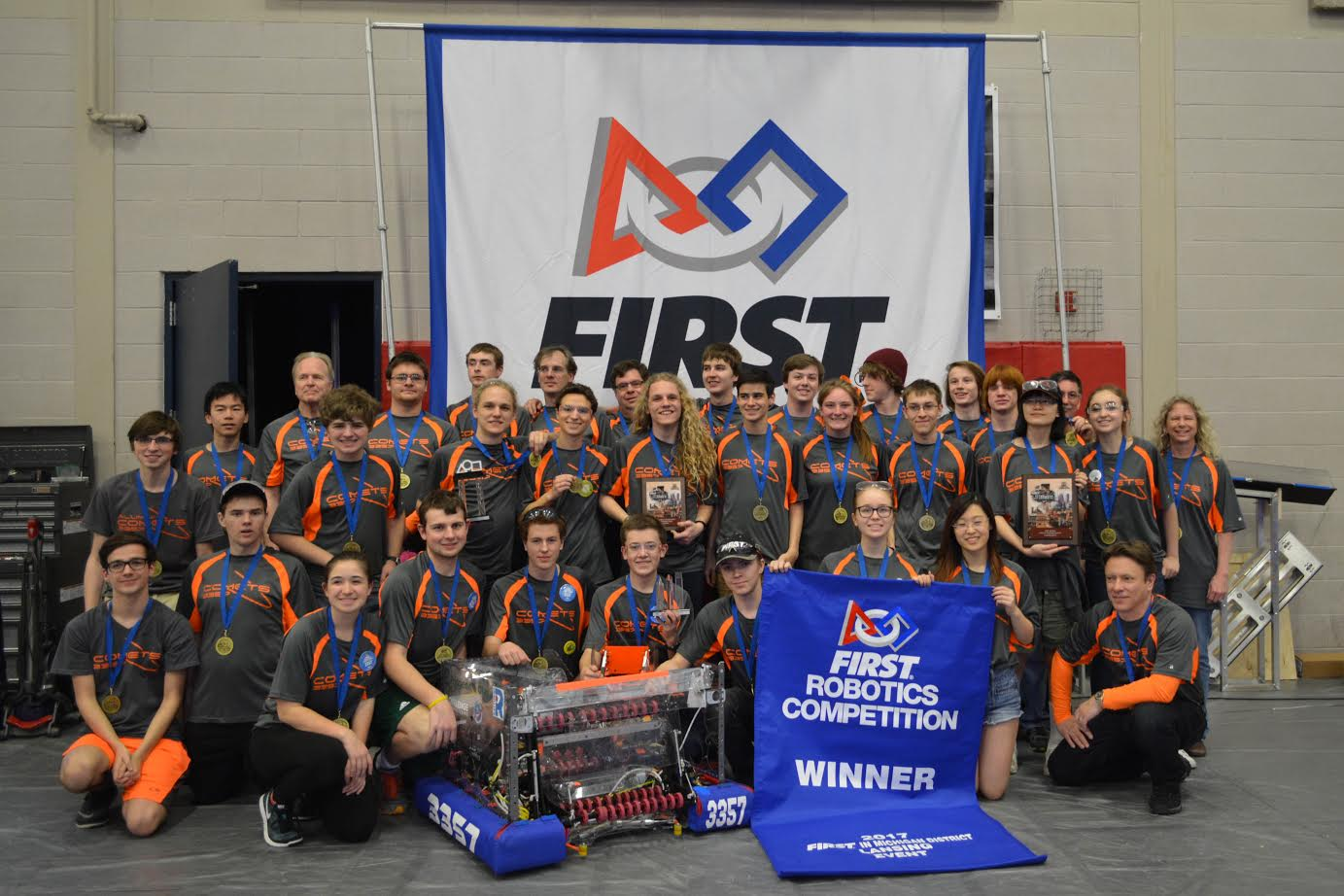 FHC Robotics team takes first place at their competition