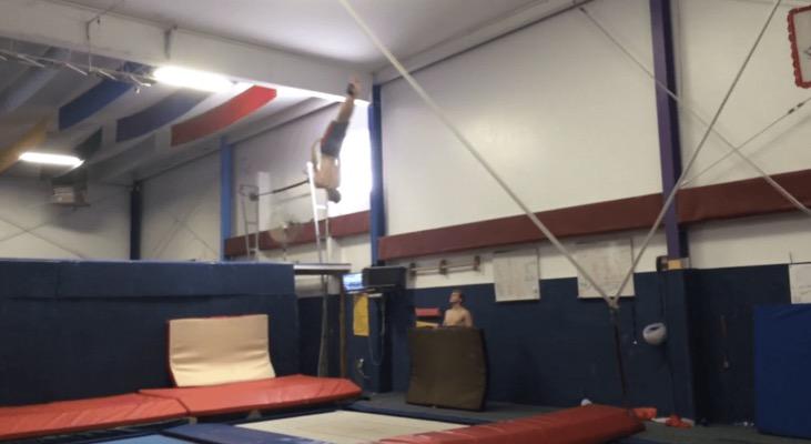 Kam Wilcox's love for gymnastics has shaped him for the better