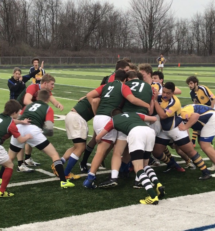 Forest Hills Rugby Falls in a Tight Battle