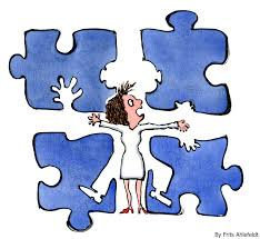 The puzzle is the problem: fitting in