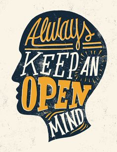The power of keeping an open mind