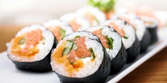 Sushi Market offers a great first-time sushi experience