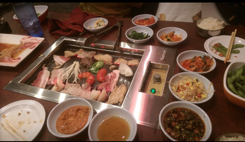 Emonae offers authentic Korean barbecue in an unique setting