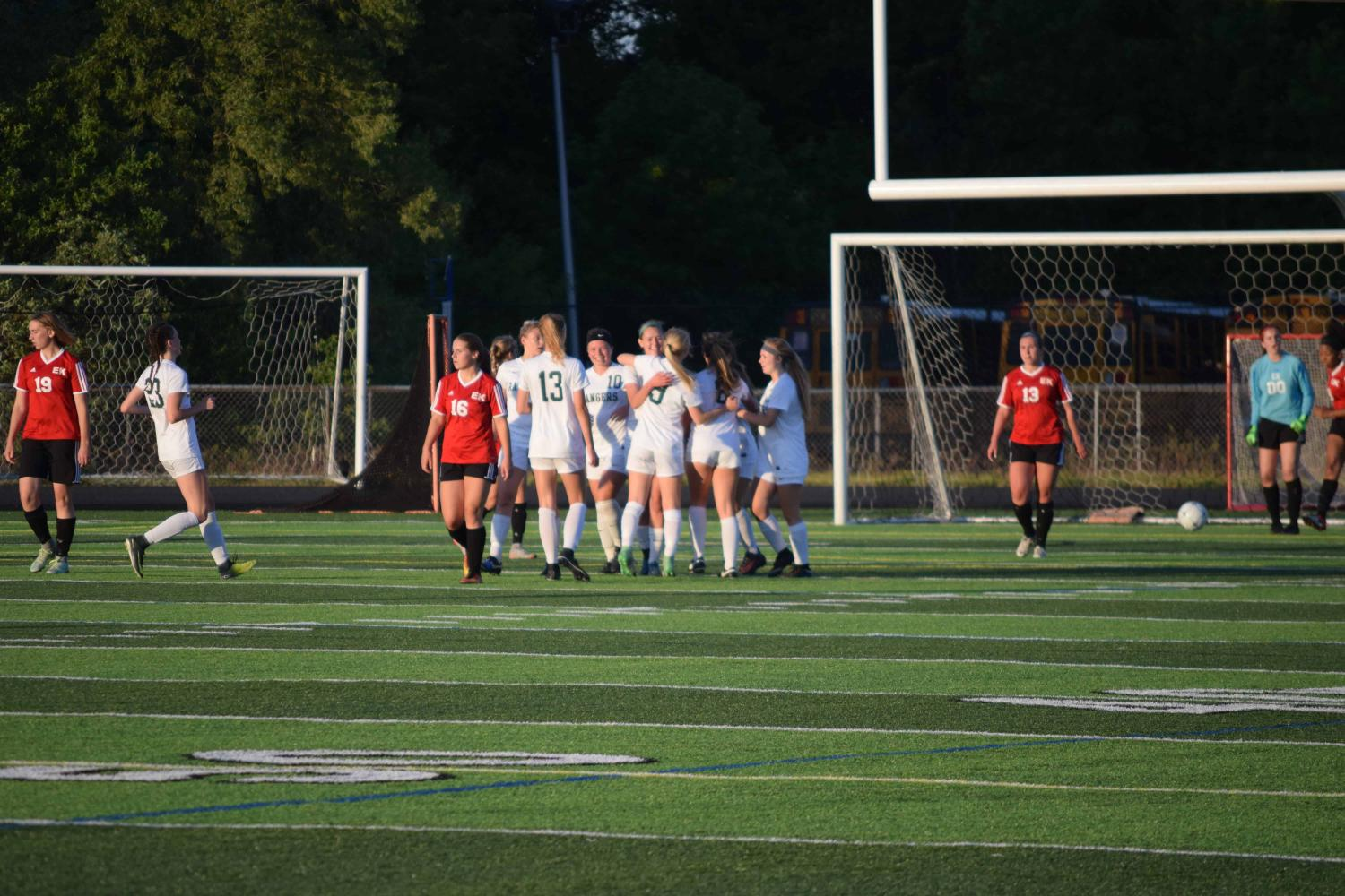 Division 1 District Semifinal – FHC Varsity Girls Soccer vs. East Kentwood: June 1st 2017