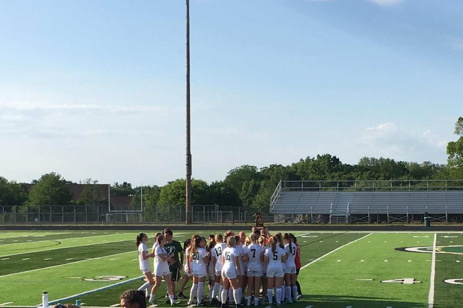 Division 1 District Final – FHC Varsity Girls Soccer vs. Rockford: June 3rd 2017