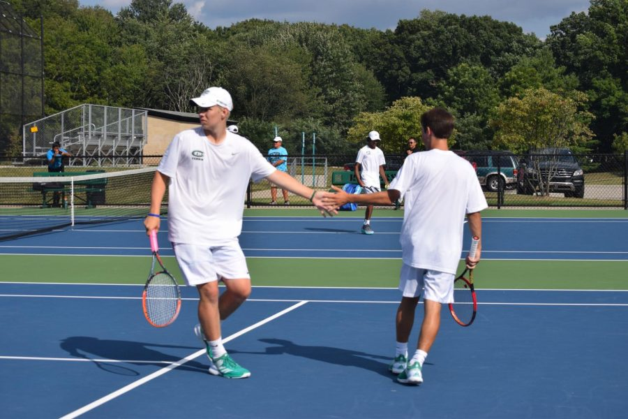 Varsity tennis falls to FHN in conference opener