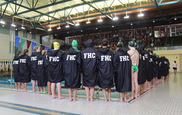 Girls Swim and Dive team falls to Rockford powerhouse in head-to-head meet