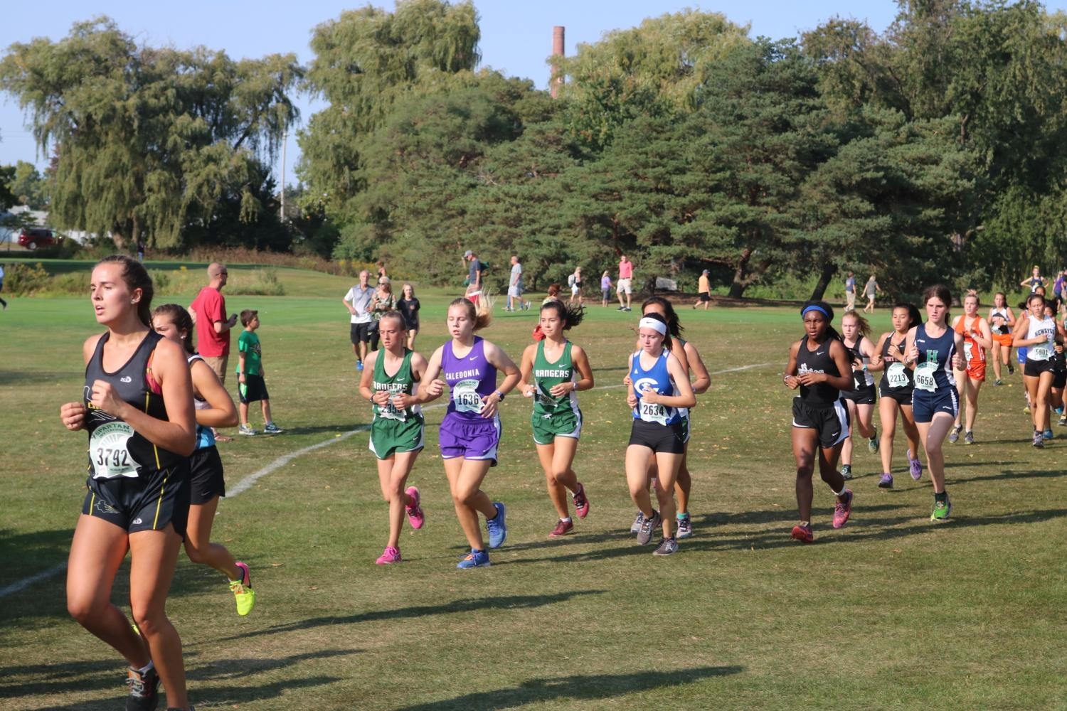 Cross Country at Riverside Park