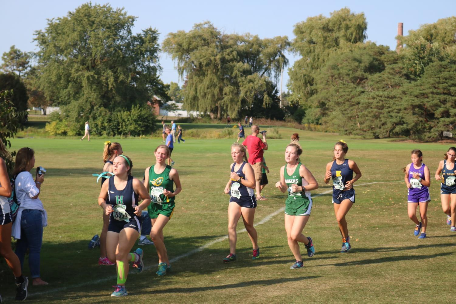 Rangers Cross Country greatly improves at Allendale Meet